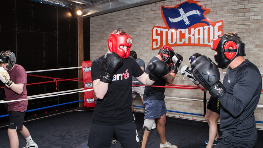 Stockade Boxing Sparring